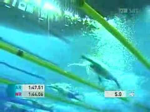 2006 Doha AG Swimming Mens 200m Freestyle Final