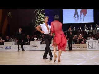 Guillem Pascual & Rosa Carne, ESP _ GoldstadtPokal 2018 - WDSF WO LAT - solo R