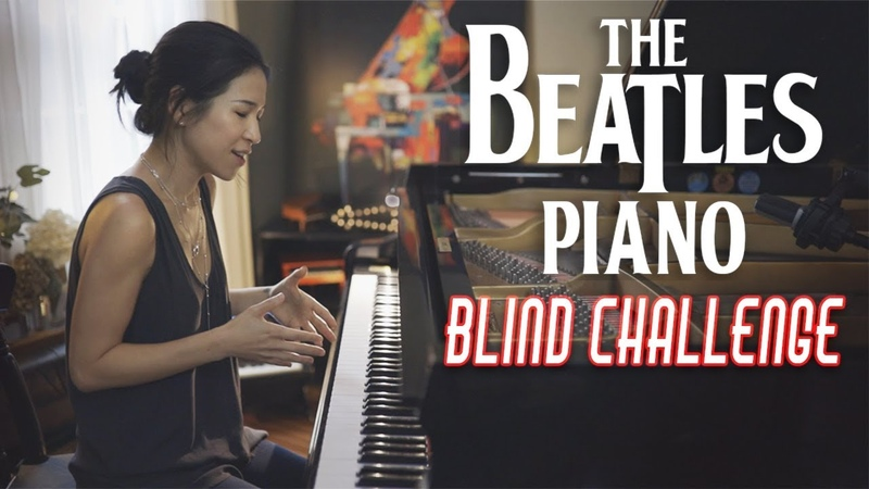 All My Loving Beatles Piano Cover with Kinda Blind Challenge Bonus Vocal Cover