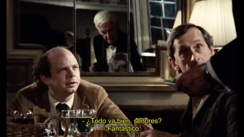 Mi cena con André My Dinner with Andre Louis Malle 1981 Sub español