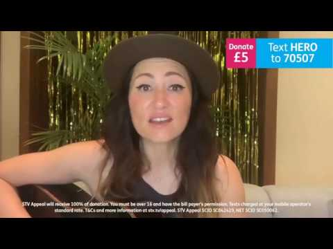 KT Tunstall - STV Childrens Appeal 2020 - 02 - Under The Weather