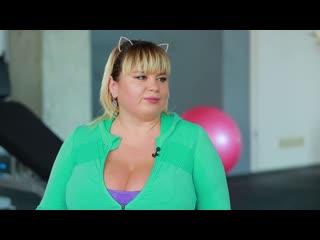 Мила Кузнецова (Міла Кузнєцова) Модель plus size    Інтервю про спорт та конкурси краси (Big Tits, большие сиськи, 13 размер)