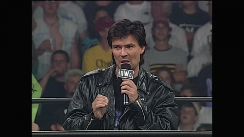 WCW Monday Nitro 19th May 1997 - Sting deathdrops Eric Bischoff