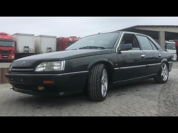 Renault 25 V6 Baccara V6 injection PRV V6 Coldstart Kaltstart Details Interieur Exterieur driving