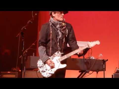 QOTSA Johnny Depp at Imperial Ball 18 01 2020