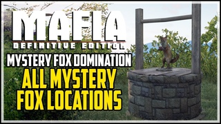 Mafia Definitive Edition All Mystery Fox locations (Mystery Fox Domination Trophy)