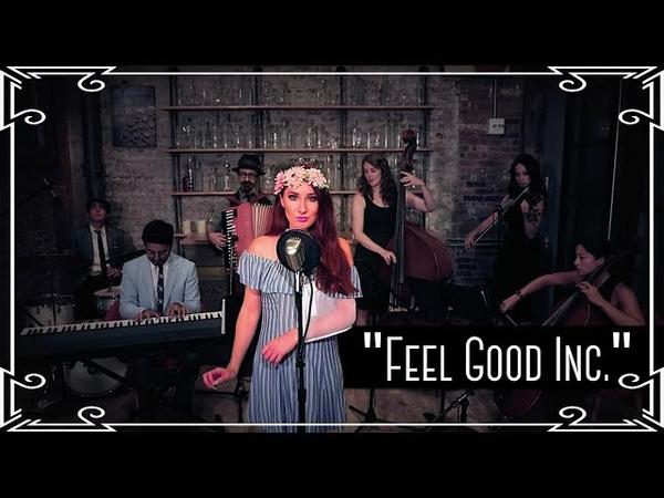 Feel Good Inc. (Gorillaz) Waltz Cover by Robyn Adele Anderson