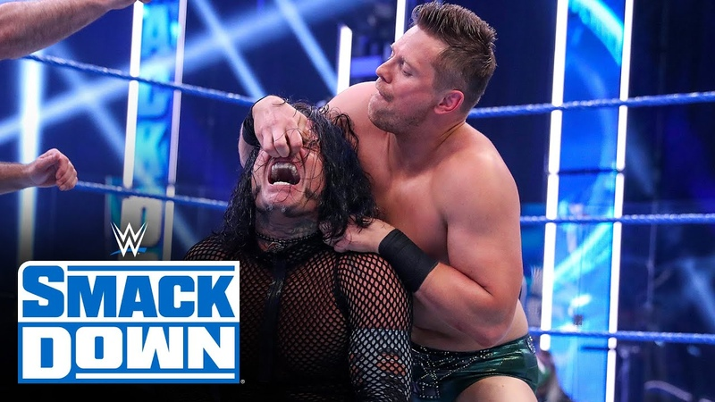 My1 Jeff Hardy vs The Miz SmackDown July 10 2020