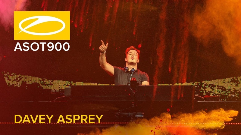 Davey Asprey live at A State Of Trance 900 Jaarbeurs Utrecht The Netherlands