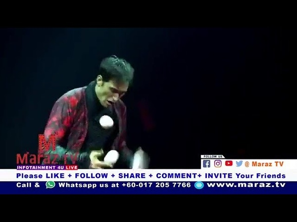 Semen Krachinov at Maraz TV at The Moscow Circus Malaysia 16 12 2018