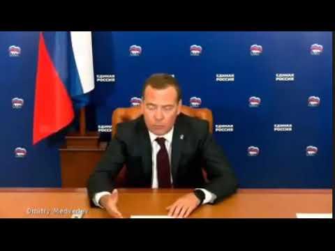 Медведев проговорился об истинных целях мирового правительства