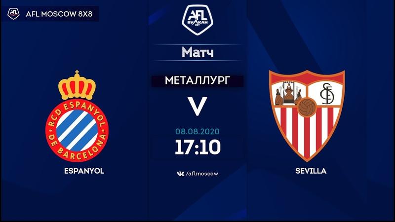 AFL20. Spain. Segunda. Day 5. Espanyol Sevilla.