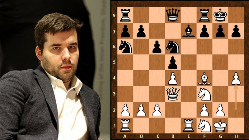 Amazing Thorn Pawn Chess Game Ian Nepomniachtchi vs Wang Hao World Ch Candidates 2020 Rd 5