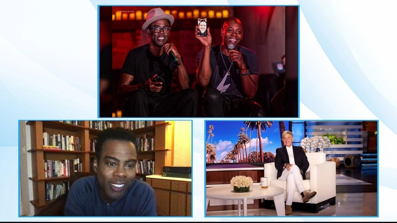 Chris Rock on the Hallucinogenic Mushroom Tea at Dave Chappelles Standup Shows