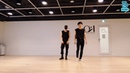 ATEEZ San and Seonghwa dancing to NCT 127 and BTS