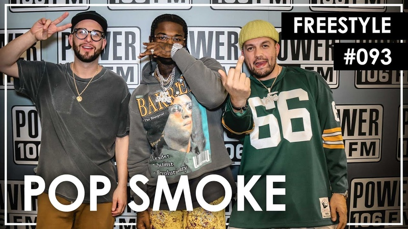 Pop Smoke Freestyles Over 50 Cent's Not Like Me L A Leakers Freestlye 093