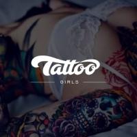 Логотип Девушки с татуировками