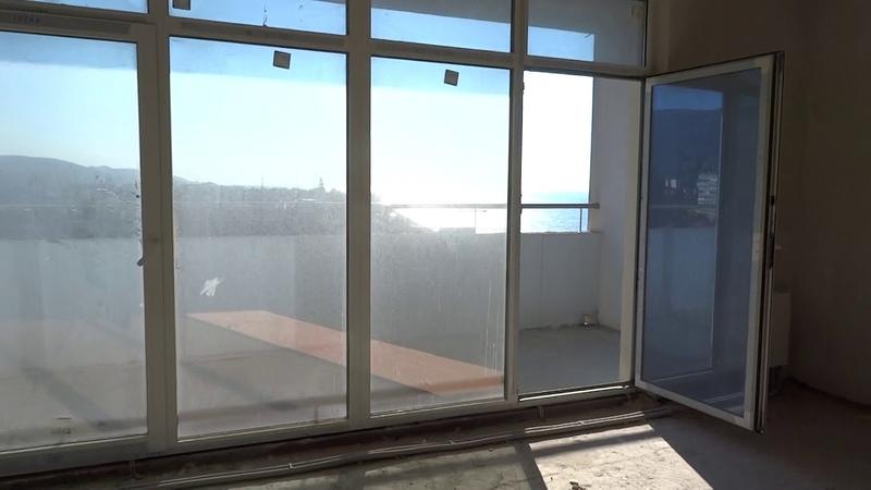 Квартира-студия на 9-м этаже в ЖК Сан-Марина по ул. Одоевского в Лазаревском.