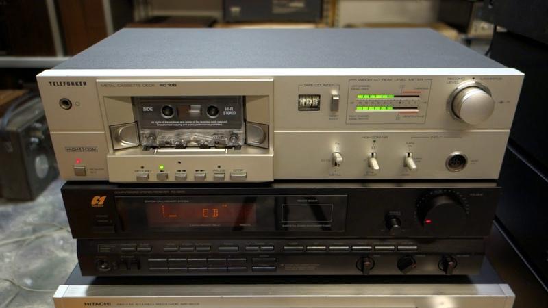 Telefunken RC 100 Sansui RZ3000 Jamo Cornet 90 IV 100