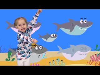 Детская DISCO дискотека - BABY SHARK - Учимся танцевать под песню АКУЛЕНОК - Пес