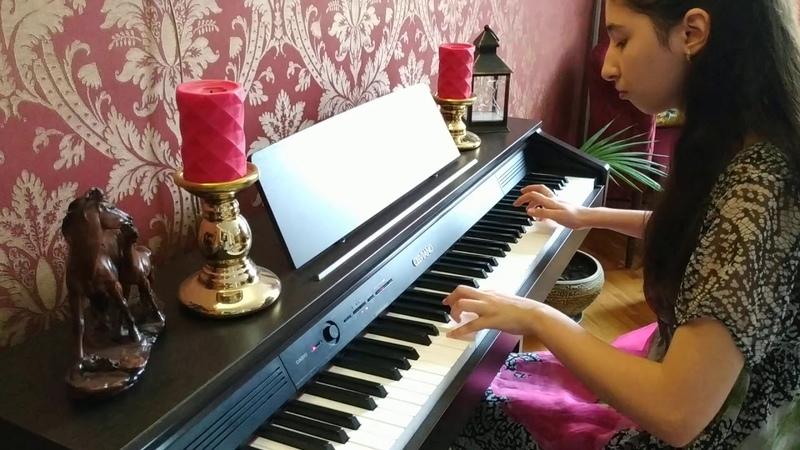 Графиня де Монсоро La Dame de Monsoreau France 1971 Piano version by Ismailova Leyla