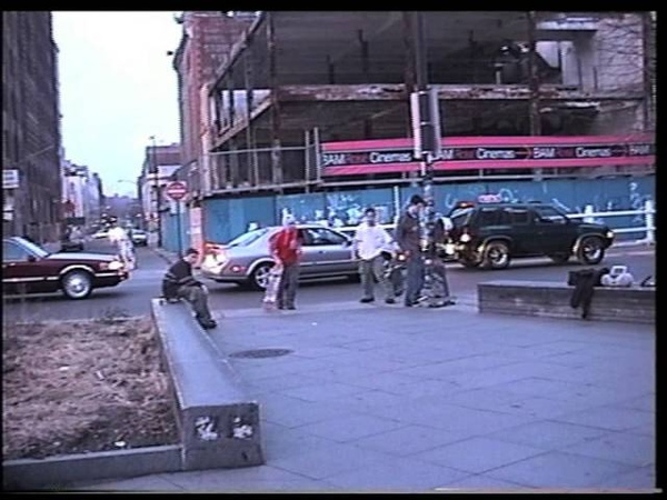 Skateboarding in new york early 2000