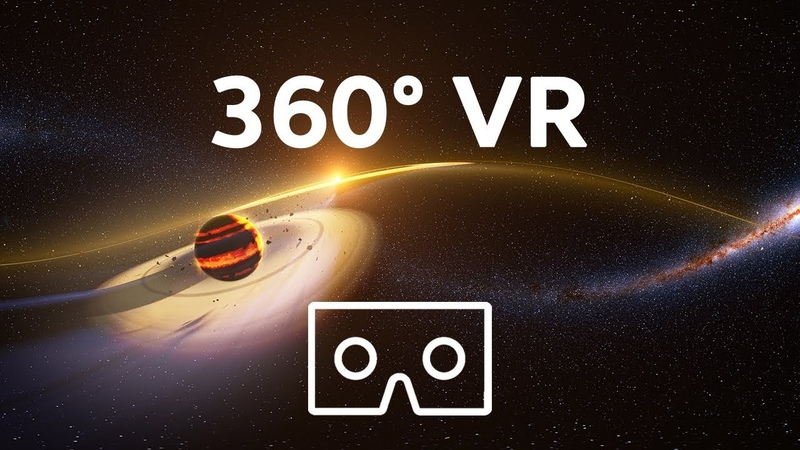 Take a Virtual Reality tour of six REAL exoplanets 4K 360° VR experience We The Curious