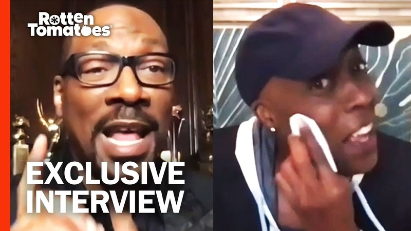 Eddie Murphy Reveals Moment Arsenio Hall Cried While Making 'Coming 2 America'   Rotten Tomatoes