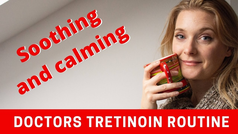 My morning skincare routine for glowing skin with Tretinoin Retin A