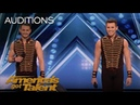 Fratelli Rossi: Brother Duo Performs Icarian Games After Injury - America's Got Talent 2018