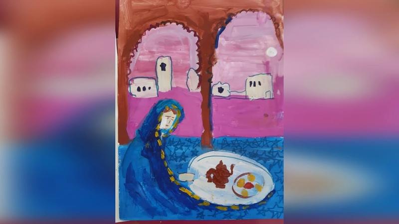 Иллюстрации к восточным сказкам Работы учеников Педагог Толмачева М В