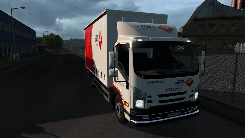 ETS 2 V1 36 Onal Turkey Isuzu NPR Rigid Cargo mod