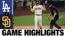 Padres smash three homers vs. Dodgers   Dodgers-Padres Game Recap 8/3/20