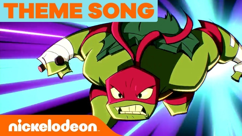 'Rise of the Teenage Mutant Ninja Turtles' Official NEW SERIES Theme Song 🎵 | Nick