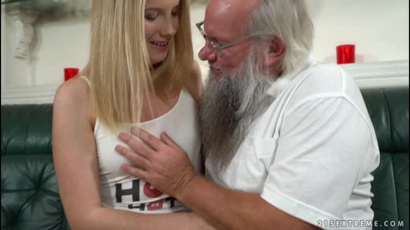 Kiara Night Bang Me Grandpa, Секс с пожилым учителем Old Young, Old man, Grandpa,