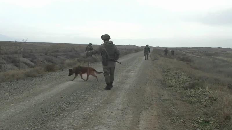 Российские миротворцы в Нагорном Карабахе приступили к разминированию города Мардакерт