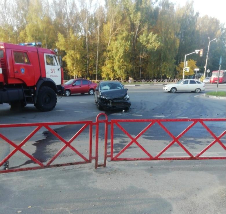 На проспекте Фрунзе произошло ДТП