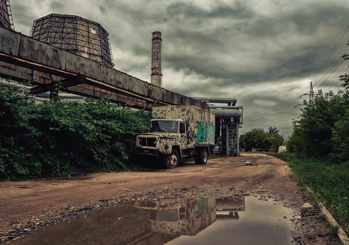 Минск, окрестности ТЭЦ 3 - Фото
