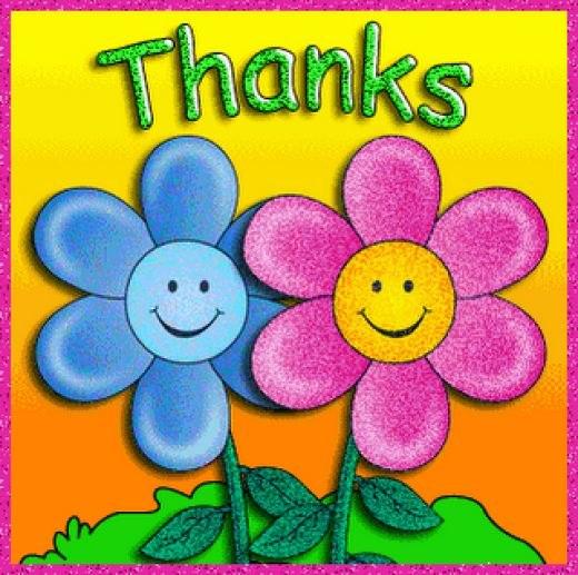 Открытки благодарности на английском языке