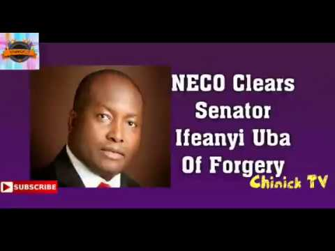 NECO Clears Sen Ifeanyi Ubah Of Forgery Ernest Asuzu Turns Road Side Beggar Burna Boy Lose Grammy