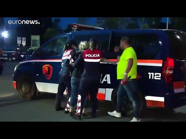 Αλβανία Επεισόδια και οργή για την καταστροφή το