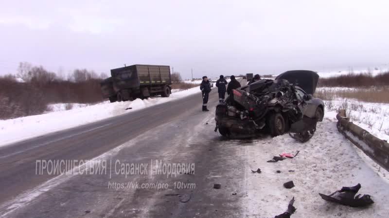 Происшествия. Мордовия. ДТП в Рузаевском районе 23012020