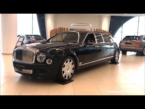 Bentley Mulsanne Grand Limousine EWB Hallmark by Mulliner 2018 Real life review