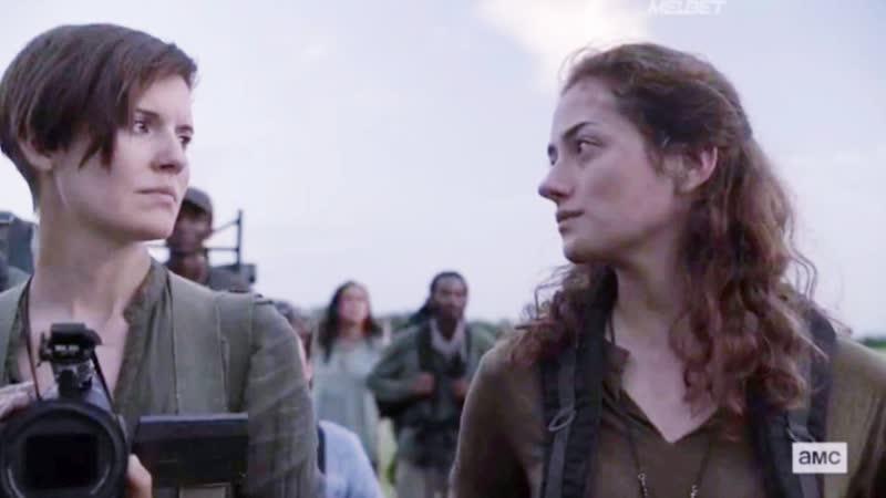 Бойтесь ходячих мертвецов 5 сезон 15 серия Алфия и Дженис