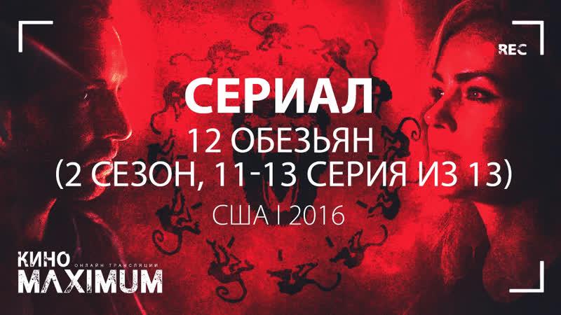 Кино 12 обезьян (2 сезон, 11-13 серия из 13) 2016 MaximuM